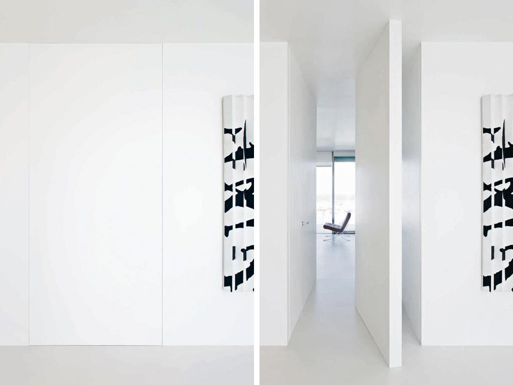 Porta L\'invisibile - FINART Serramenti