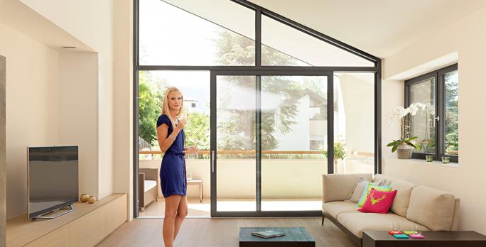 Porte e finestre in pvc alluminio e pvc legno finart serramenti - Finestre scorrevoli dimensioni ...